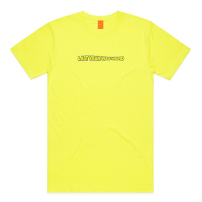 LYWW EMBROIDERED YELLOW TEE