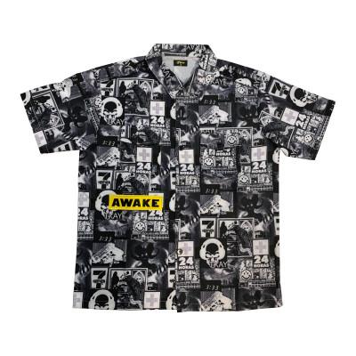 Awake Unisex Oversized Print Shirt